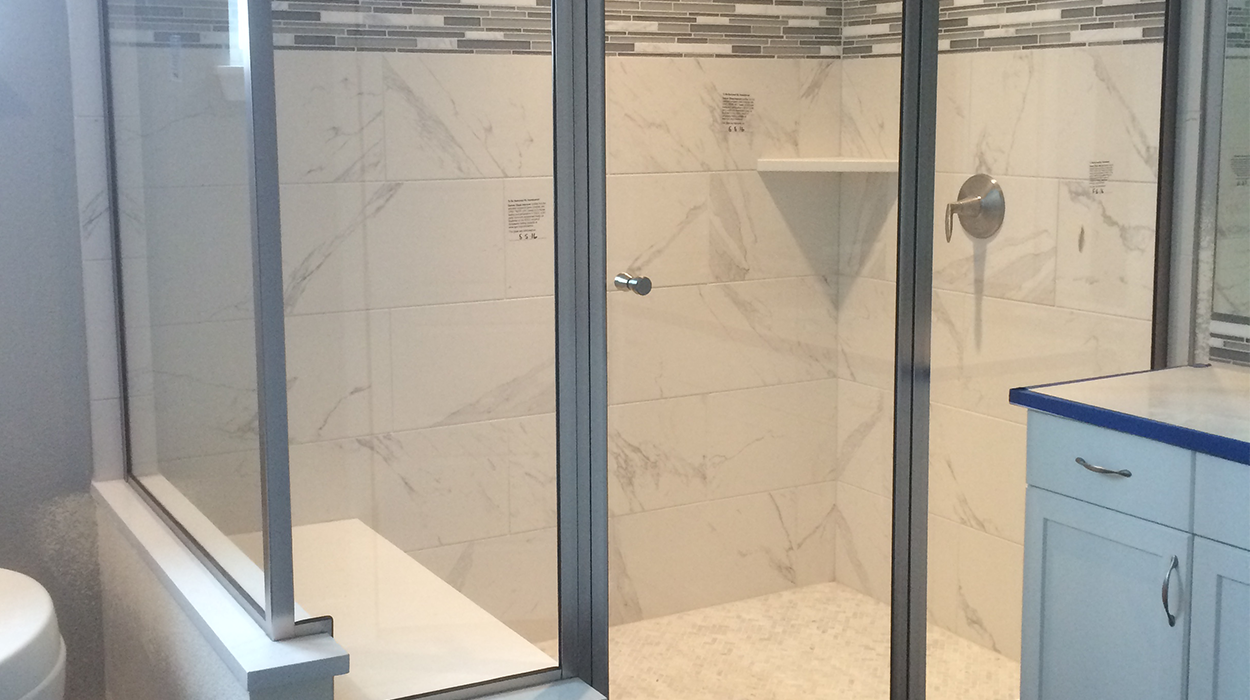 Framed & Semi-Framed Glass Shower Doors | National Glass Products