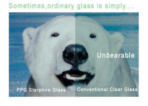 Starphire Glass bear image
